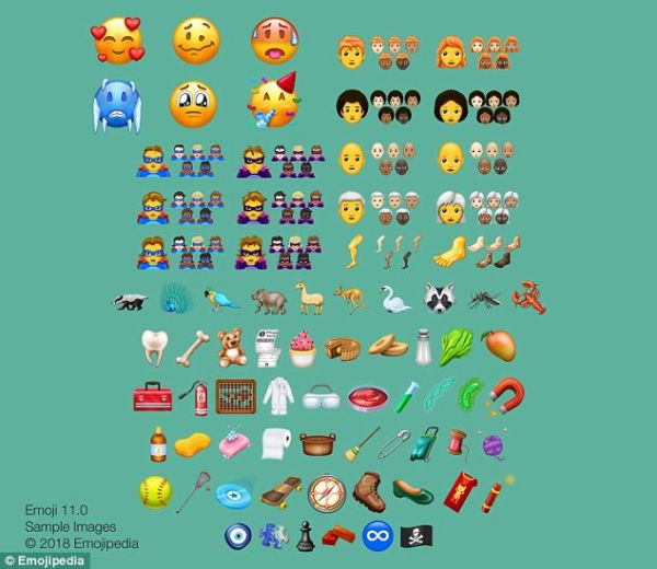 internal 4 - new emojis 2018
