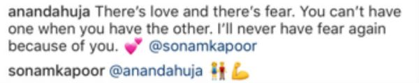 sonam anand comment