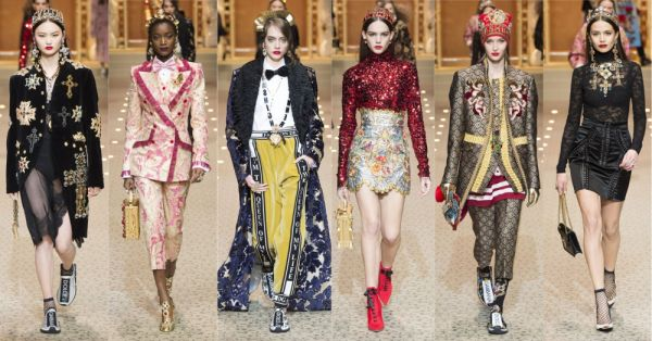 1 dolcegabbana royals fashion show %281%29