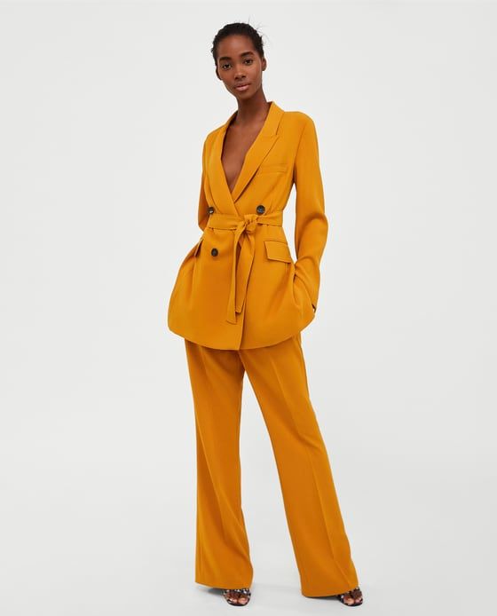 78067e3cbb The Future Is Female: Power Suits In Zara's Women's Day Collection ...