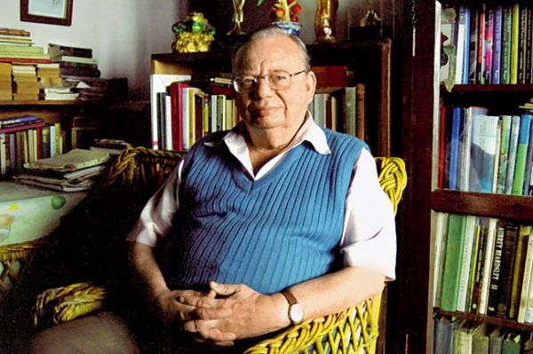9 things to do in mussoorie - meet ruskin bond