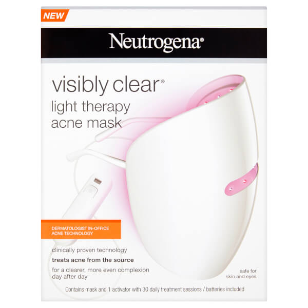 neutrogena light therapy led light mask