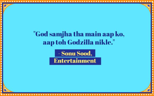 2 funny bollywood dialogues
