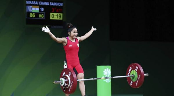 1 mirabhai chanu - commonwealth games 2018 gold in weightlifting