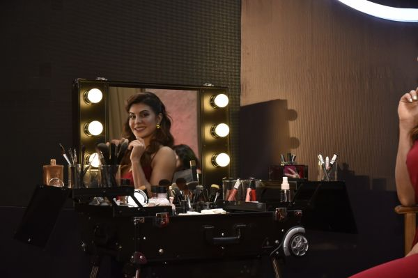 Brand Ambassador  Jacqueline Fernandez at The Body Shop's Masterclass