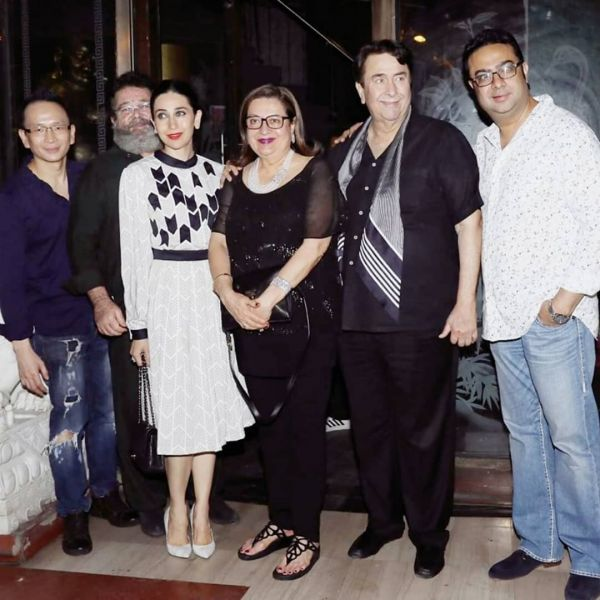 kapoor family babita kapoor birthday bash