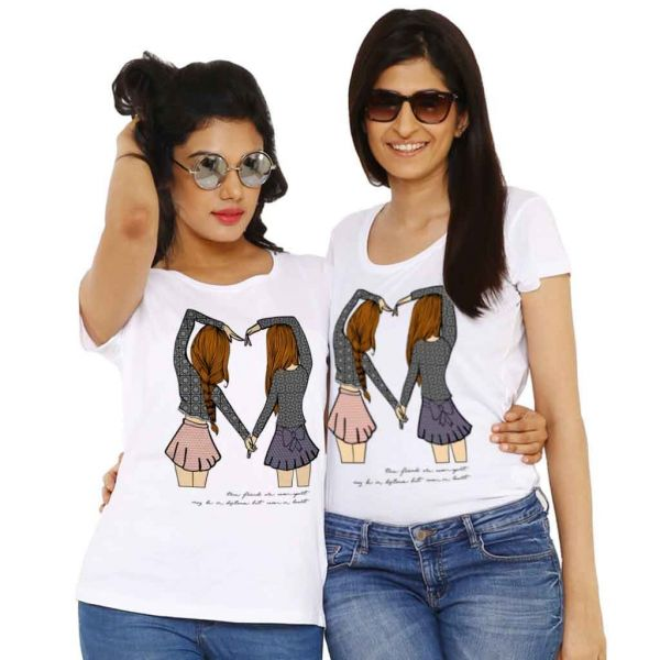 9. gifts for your bestie matching t-shirts