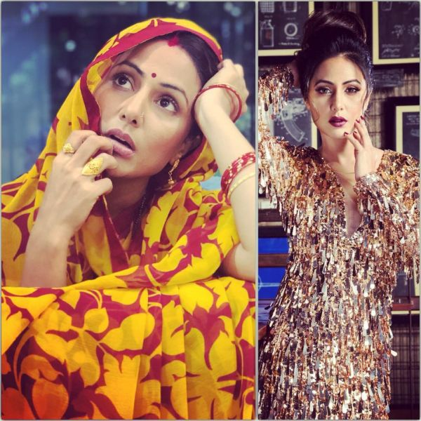 hina khan first look from bhasudi  bigg boss  delgam  hina