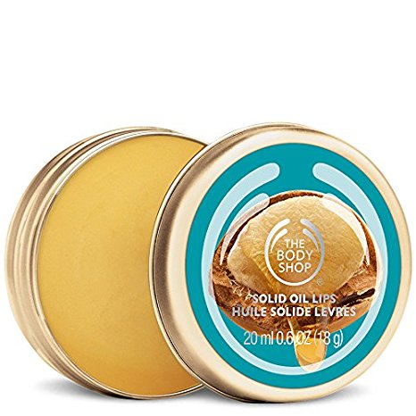 The Body Shop Wild Argan Oil Solid Oil Lip Balm