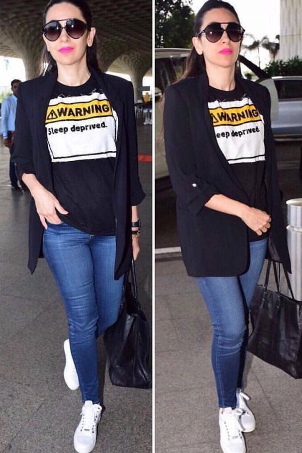 weekend that was 28 29 april karisma kapoor at the airport