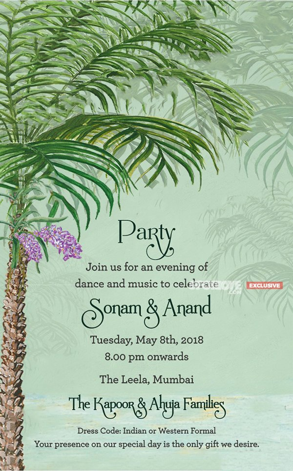 sonam anand wedding invite 3