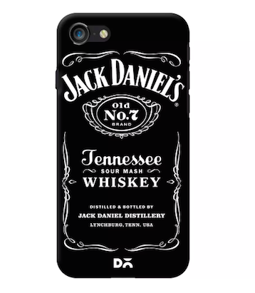 3. birthday gift ideas for boyfriend JD whiskey phone case