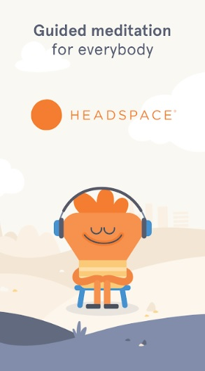 1 app for relaxing and better sleep headspace