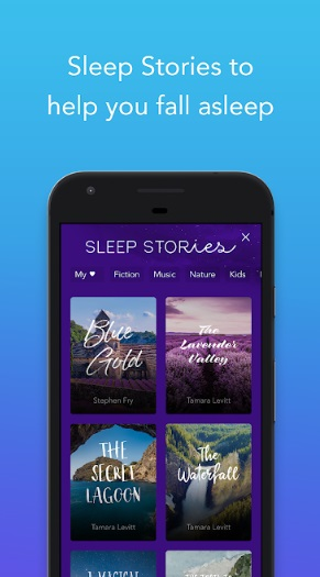 3 app for relaxing and better sleep calm