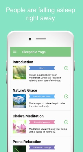 7 app for relaxing and better sleep sleepable yoga