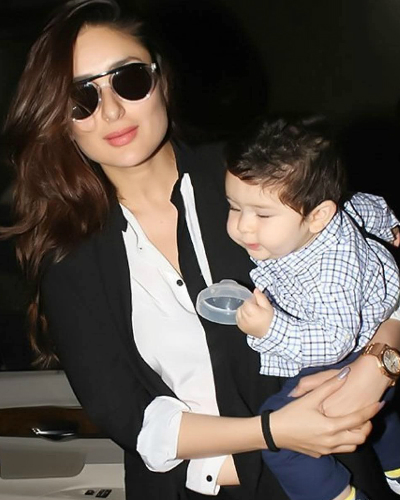 FI kareena kapoor khan with son taimur ali khan