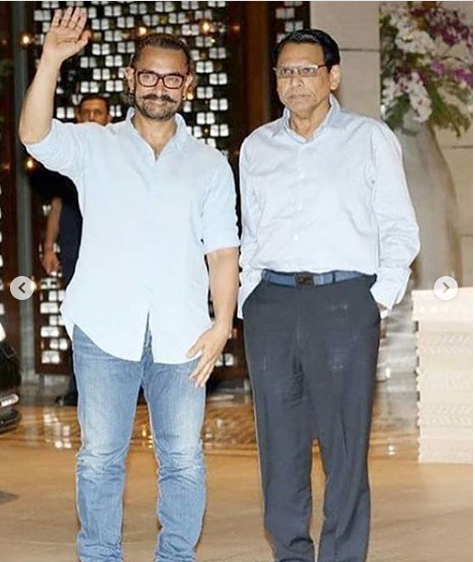 aamir khan at isha ambani engagemnt