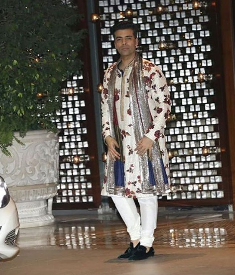 karan johar at isha ambani engagement