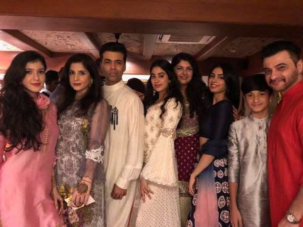 Karan johar at sonam kapoor's wedding function