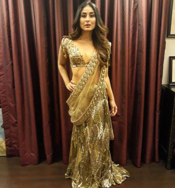 kareena kapoor low cut neckline sonam reception