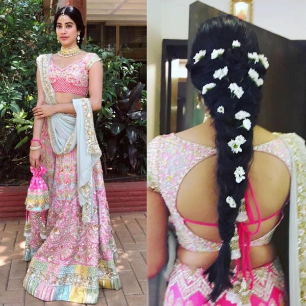 Janhvi Kapoor at Sonam Kapoor's wedding