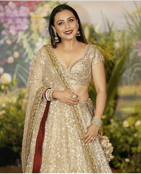 rani mukherj at sonam kapoor's wedding