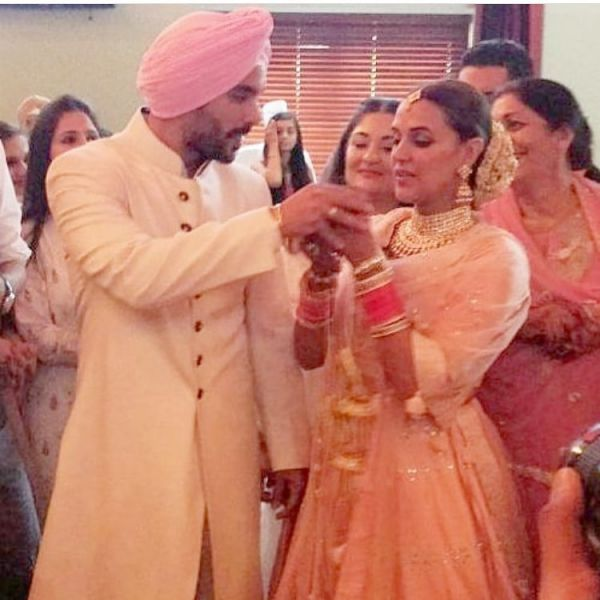 neha dhupia angad bedi wedding