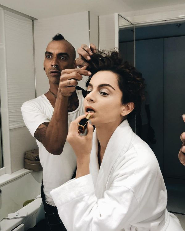 1 kangana ranaut getting ready for cannes film festival