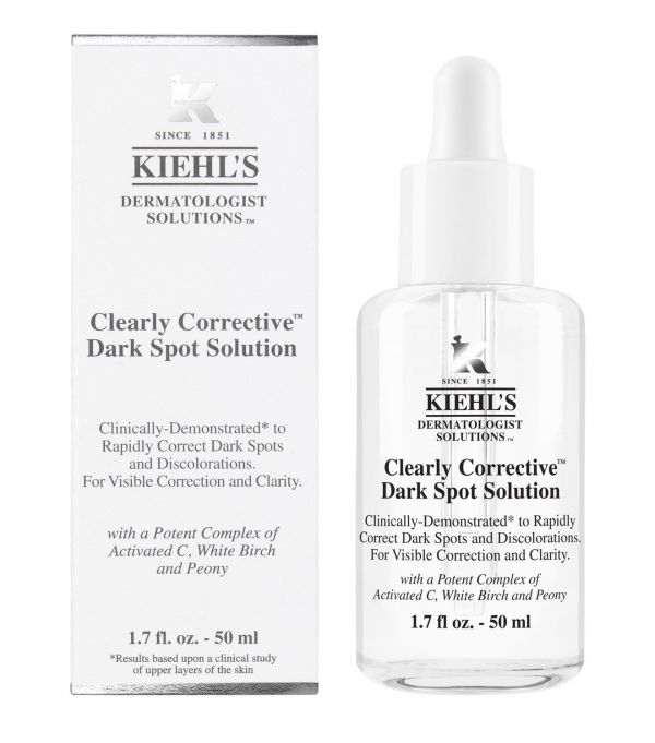 Kiehl's Clearly Corrective Dark Spot Solution layering