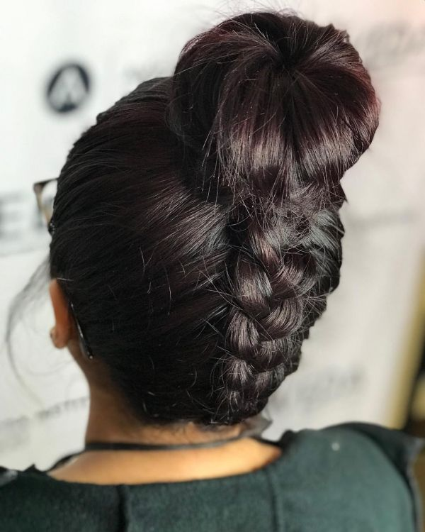 types of braids upside down