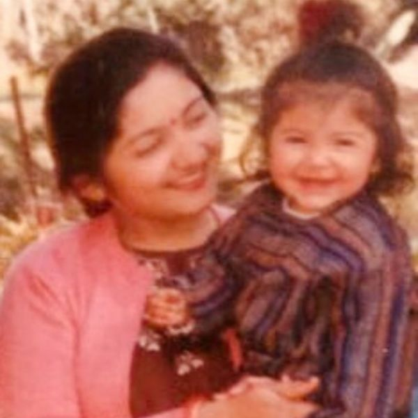 Anushka and mom