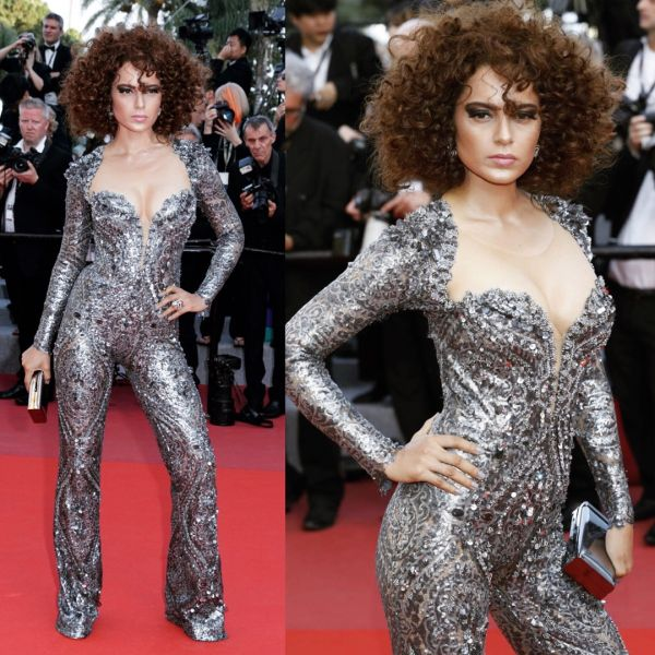 kangana in negretta ciroglu cannes