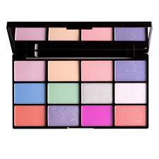 matte eyeshadow best eyeshadow palette NYX Professional Makeup In Your Element Shadow Palette - Air