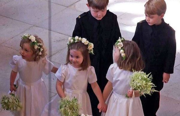10 princess charlotte at meghan markle's wedding