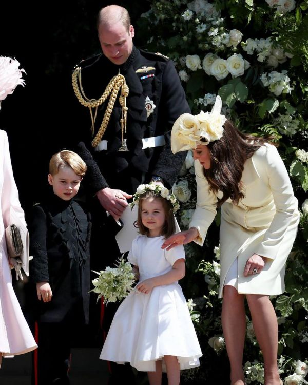 13 prince charles prince george princess kate middleton at meghan markle's wedding