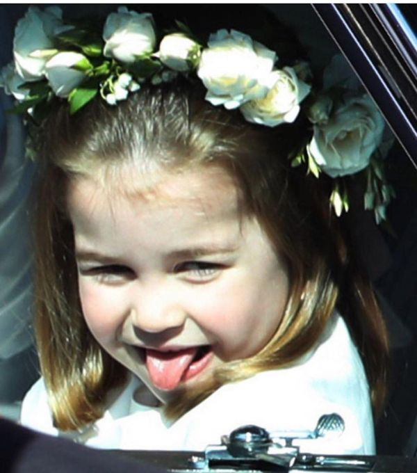2 princess charlotte at meghan markle's wedding