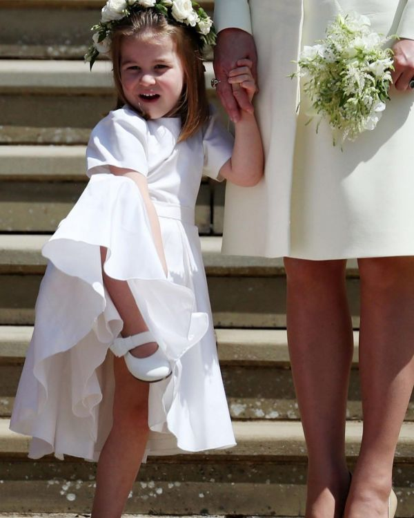 5 princess charlotte at meghan markle's wedding