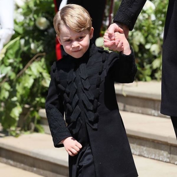 7 prince george at meghan markle's wedding
