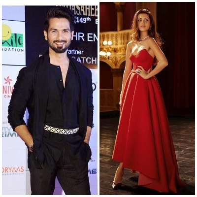 Tara Sutaria and Shahid Kapoor