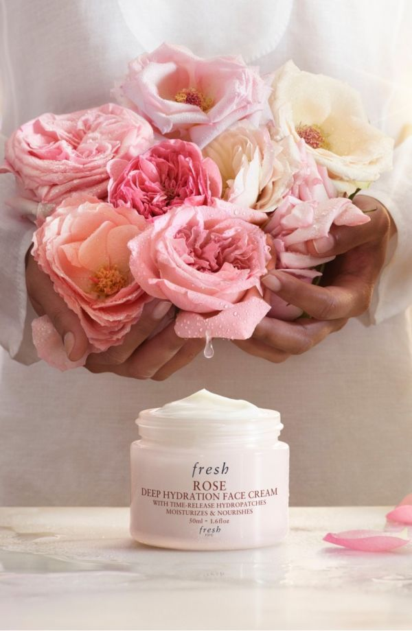 Fresh Rose Deep Hydration Face Cream Night Skincare cream