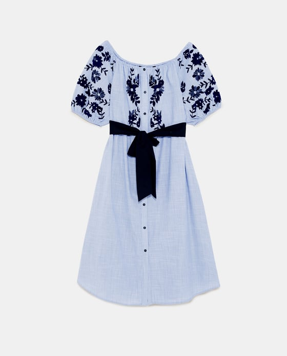 4 kate middleton - flocked print dress Zara