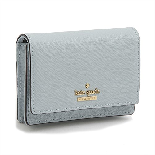 6 kate spade - SHIMMER BLUE BECA SMALL WALLET