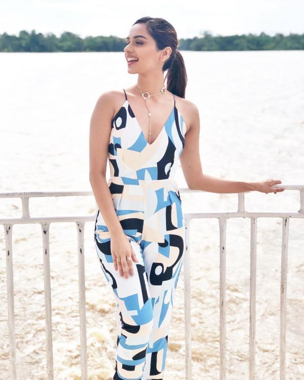 1 manushi chillar - printed jumpsuit