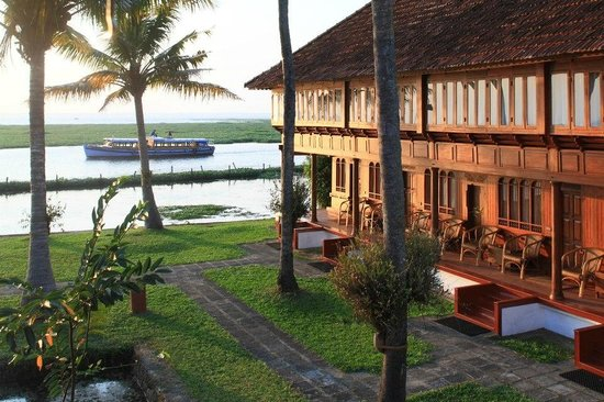 Coconut Lagoon  Kerala Backwaters