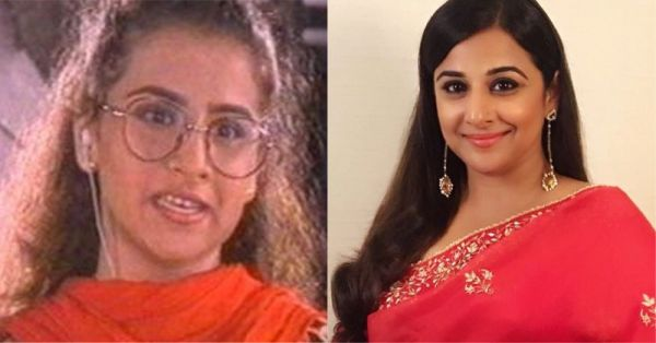4 old and new picture of vidya balan