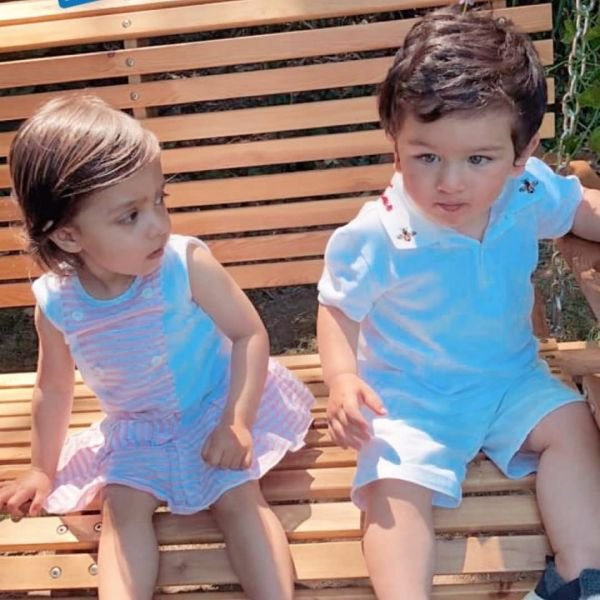 Taimur and Kainaat