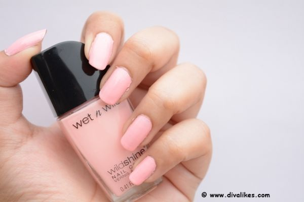 Wet-n-Wild-Wild-Shine-Nail-Color-Tickled Pink best  nude  nail  polish  paint internal