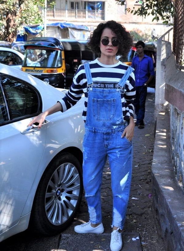 kangana dungarees to refresh wardrobe