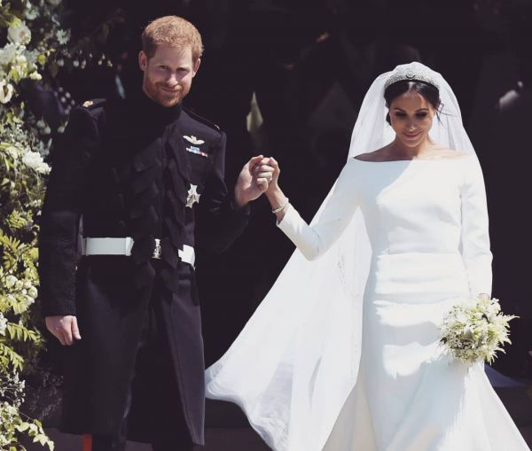 1 meghan markle and prince harry wedding megan princess diana