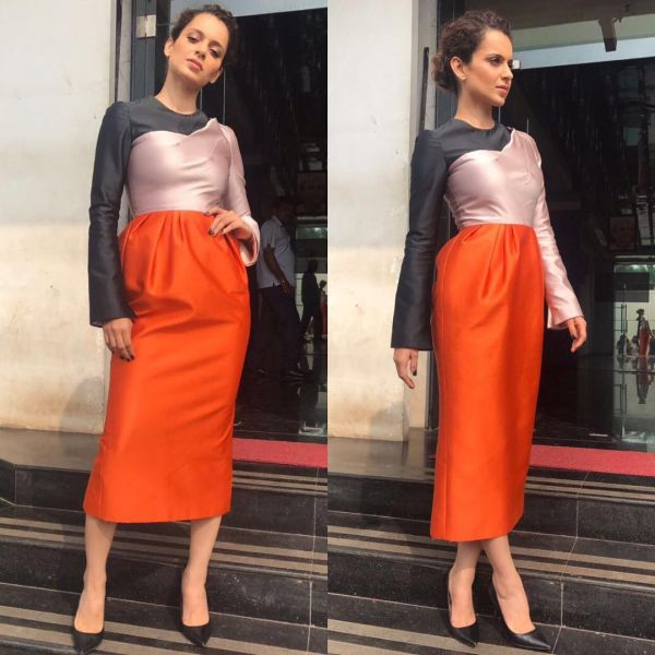 3 kangana orange is bollywood's new black
